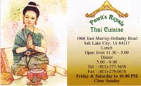 Thai Food in Salt Lake City