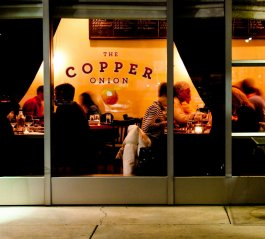 The Copper Onion Restaurant in Salt Lake City Utah